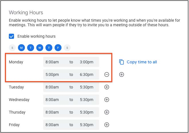 Google Calendar Now Lets You Segment Your Workday