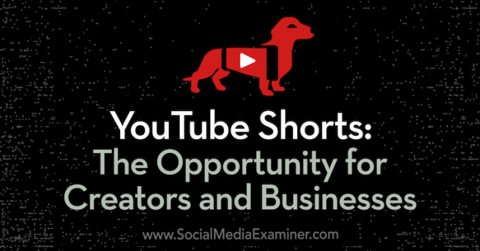 YouTube Shorts Opportunity for Creators