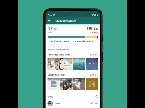 WhatsApp Storage Management Tool