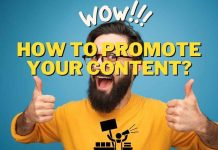 How to promote your content?