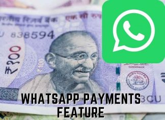 WhatsApp payments feature