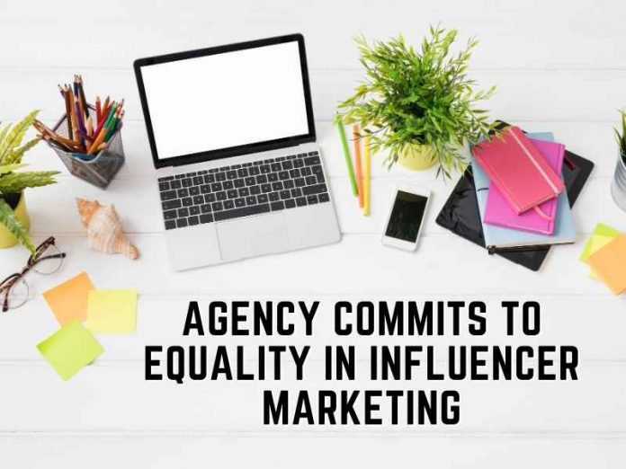 Agency commits to equality in influencer marketing