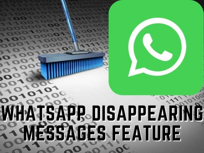 WhatsApp Disappearing Messages Feature