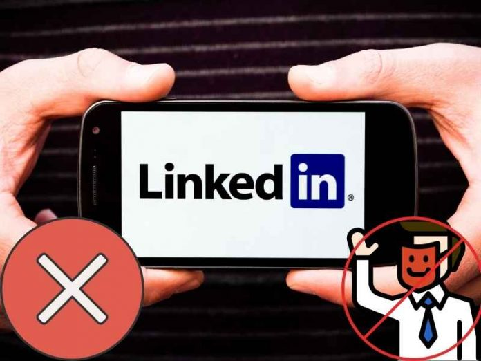 LinkedIn blocked fake accounts