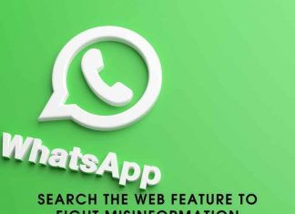 whatsapp Search The Web Feature To Fight Misinformation
