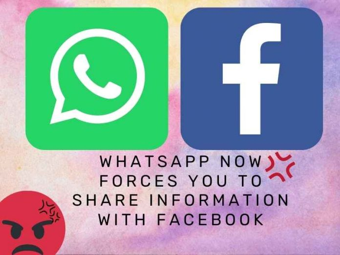 Share Information With Facebook